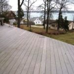 Custom Deck with a River View