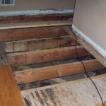 Madison Heights Water Damaged Floor