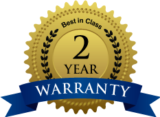 2 Year Extended Workmanship Warranty